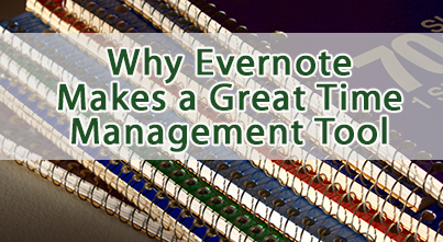 Evernote for time management